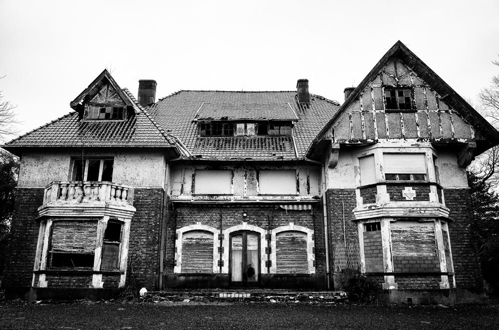 Urbex maison de viron villa de la baronne vlr - Maison abandonnee belgique ...